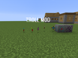 The screenshot of troll mod