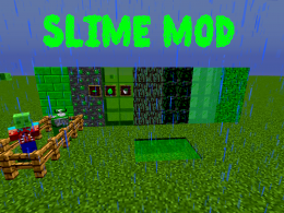 this is the Slime Mod mit all elements and blocks