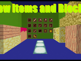 New Items and Blocks