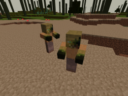 New mob: Wasteland Zombie.