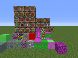 Everything in the mod (except  3 mobs and a biome)
