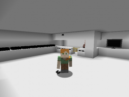 I am in the M. Industries building that spawns naturally in your world.