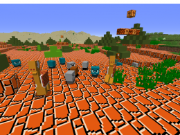 One of the Two Biomes and some Mobs