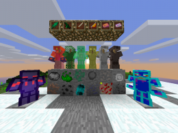all ore, some armor and some item of mod.