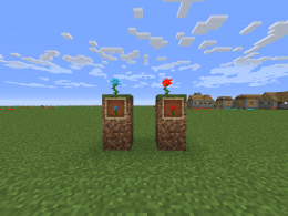 This simple mod adds back the forgotten blue and red rose into modern day Minecraft