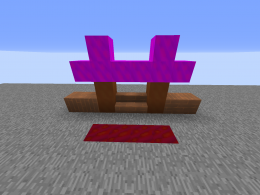 Blocks So Far [wood and its variants, leaves, and ore (on floor)]