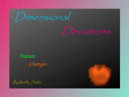 "Dimensional Deviations Mod ""Nature Changes Part 1"""