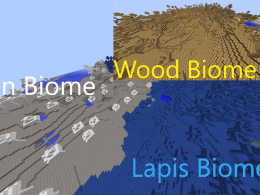Iron, Lapis, Wood Biomes