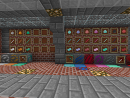 Ores, ingots, rods, dust and blocks from this mod