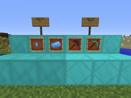 Version 1.0 Blocks, Items and Tools