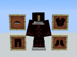 Vampire Armor (Hood, Tunic, Trousers, Boots)