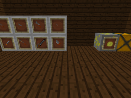 items and blocks in the mod