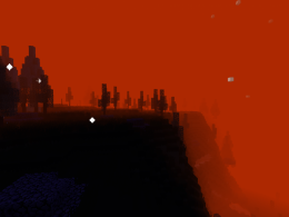 The Sunset Forest:  One of the Dimensions, accesable by using the Starlit void orb.