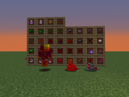 All Items And Mobs