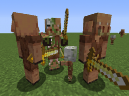 New: new model and texture for the piglin and new texture for the zombie pigman (now it's a zombified piglin)