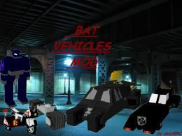 BAT VEHICLES MOD