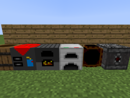 Blocks (crafting, storages, smelters, brewer)