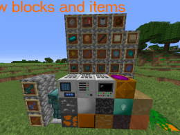 New block and items