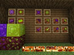 All Items, Blocks and Tools from Nether OresNTools