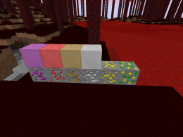 6 New Ores to find! Amethyst, Ruby, Copper, Silver, Glowstone, and XP!