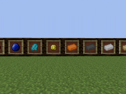 Brand new ores to make tools and other usefull resources.