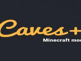 Caves+ is a BuildingBlocks,Tools,Armors,Weapons that you can create by starting from different new ores & stones.