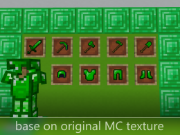Add basic gear (emerald)