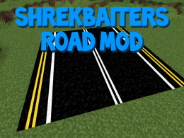 This mod ads some cool new roads with different designs!