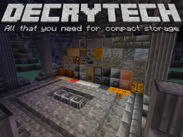 Decrytech: all that you need for compact storage.