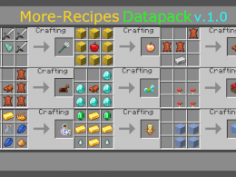 All Recipes btw. you can craft all Horse armors!