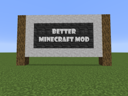 Better Minecraft Mod