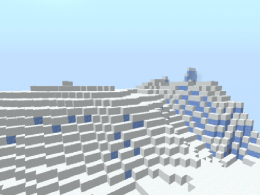 This are the Frozen Plains, a new Biome with a structure