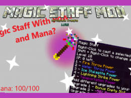 Magic Staff Mod
