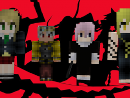 Mod currently includes some of the main Soul Eater characters!