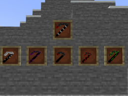 All the scythes you can ask for!
