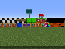 Most blocks/items, I actually dont know if I got them all.