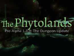 The Phytolands logo, most likely temporary