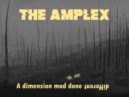 Welcome to the Amplex!