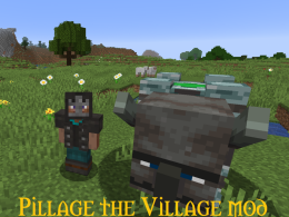 Pillage the village logo