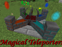 Magical Teleporters with a Blood Altar