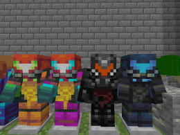 All suits and the metroid mob