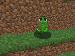 a little pea shooter. I put it as a test and so far it is all this mod has.
