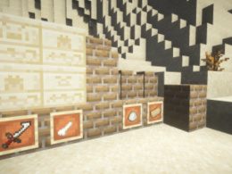 New Chiseled Sandstone and a new brick type