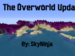 The logo for the Overworld Update Mod!