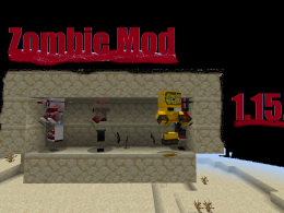 Zombie And Guns Mod 1.15.2