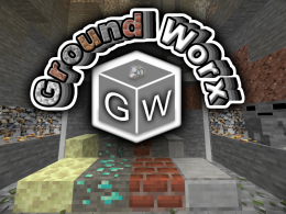 Ground Worx adds lots of things, like vertical slabs!