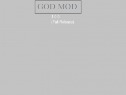 Welcome to to god mod