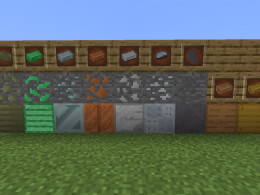 new ores and block!
