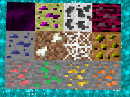 find new ores!