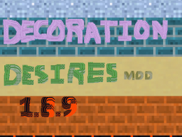 The Decoration Desires Mod 1.8.9